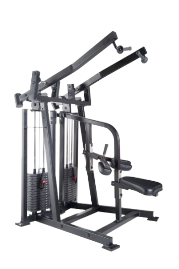 uts-300_unilateral_lat_pull_down_with_2_150_lb._weight_stacks
