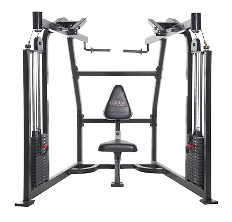 uts-350_unilateral_high_row_with_2_150_lb._weight_stacks