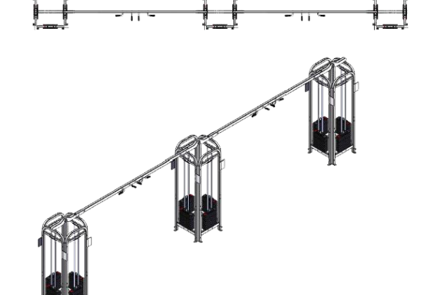 cm-712s_12_weight_stack_3_towers_straight_unit_with_multi-grip_chin_bar_suspension_trainers